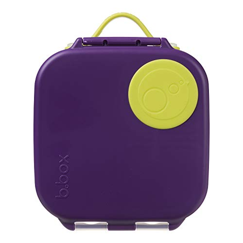 b.box Mini lunchbox met verstelbare verdelers voor kinderen, siliconen voedselopslagcontainer met gemakkelijk te openen…