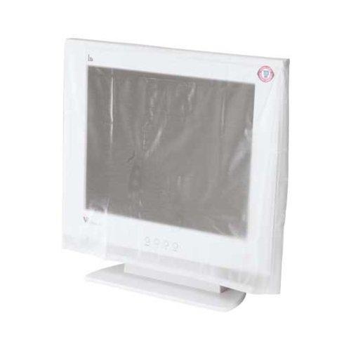 Hama Bildschirm Staubschutz-Hülle (geeignet für Monitore von 48 bis 53 cm (19 - 21 Zoll)) transparent