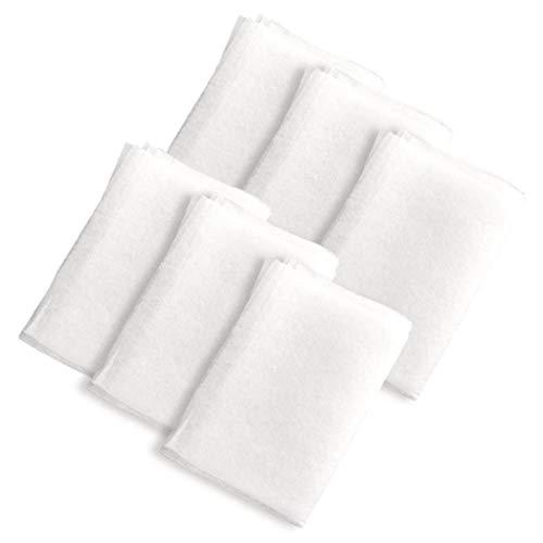 LAANCOO Campana Extractora De Humo Filtro Anti Corte De Filtro Absorbente De Tela No Tejida Anti del Aceite Humos Pegatinas para Utensilios De Cocina 6pcs De Handy