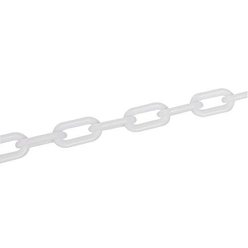 Fixman 568185 Kunststoffkette, weiß, 6mm x 5m