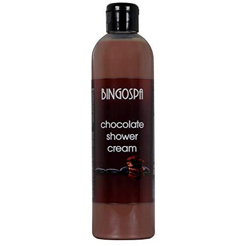BINGOSPA Schokoladen Duschcreme, Duschmilch, Duschgel - 300ml