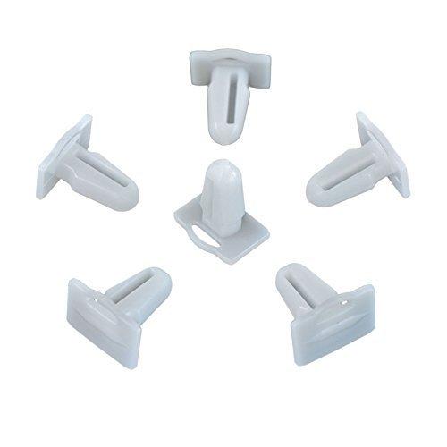 10x Einstiegsleiste Befestigung Clips Kantenschutz Einstiegleisten für | CL-0201
