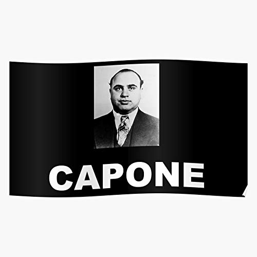 Best Wow New Chicago Selling Criminal Capone Mafia al Gangster Home Decor Wall Art Print Poster !