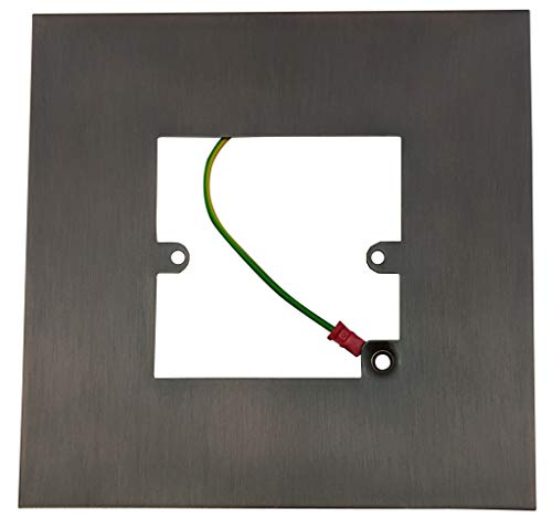 G&H 809BB Black Bronze Finger Plate Surround 152mm x 152mm for Single Plate