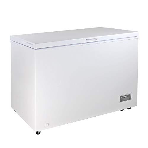 Gefriertruhe Tiefkühltruhe Kühltruhe mit Gefrierkorb DGT 316 316 L A++ weiß