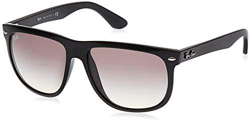 Ray-Ban Unisex 4147-non Polarized Sonnenbrille, Schwarz (Gestell: Schwarz, Gläser: Hellgrau Verlauf 601/32), Large (Herstellergröße: 56)