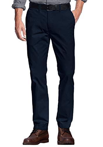 Match チノパン ストレッチ スリム スキニー ストレッチパンツ スキニーパンツ カラーパンツ ズボン メンズ 大きいサイズ(5XL/42, ネイビーブルー#1)