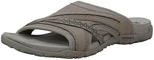 Merrell Women's Terran Slide II Silver Lining Sandal 9 M US