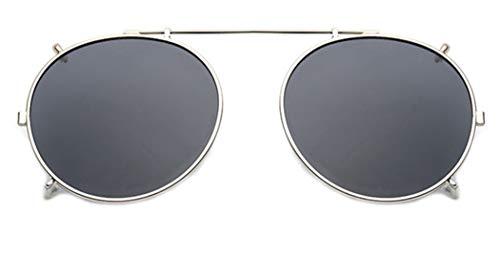 Clip su Occhiali da Sole,Occhiali da Sole Lenti Polarizzate da UV400 Flip-up - Comodo e Sicuro Ideale per Esterno e Guida per uomo Donna