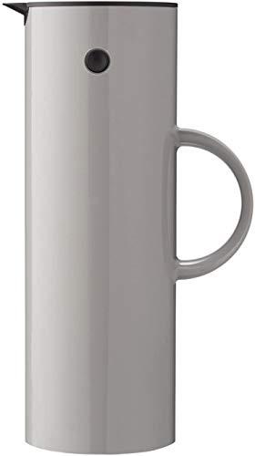 Stelton EM 77 Isolierkanne, Kaffeekanne, Kunststoff, Grau, 1 Liter