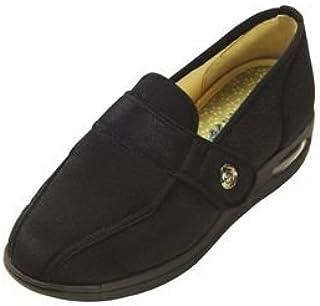 マリアンヌ製靴 彩彩~ちりめん~ W1102 婦人用 /25.5cm ブラック