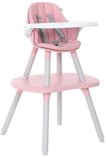 Silla alta segura Silla alta para bebé - Silla de comedor en el hogar Bebé multifunción Comer asiento de niño Mesa de silla de comedor y silla Dual Uso Suitable para niños de 6 meses a 3 años Silla de