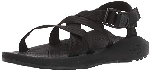 Chaco womens BANDED Z CLOUD Sport Sandal, SOLID BLACK, 9 M US