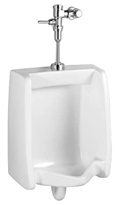 American Standard Washbrook Top Spud Urinal with Manual Flush Valve