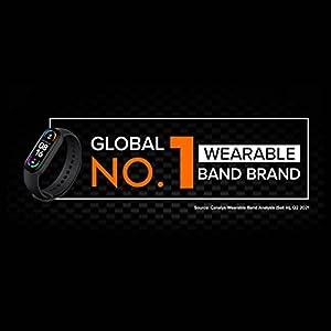 Mi Smart Band 6 *1.56 Pantalla Completa Amoled* 30 Modos de Entrenamiento* Monitor SpO2* Resistente al Agua hasta 50 m* Aplicación Conection Mi Wear y Mi fit