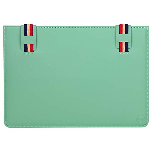 WALNEW 13 Inch Laptop Case Cover Sleeve Pouch Fits 13-inch MacBook Pro 2016-2020 / MacBook Air 2018-2020, Mint Green