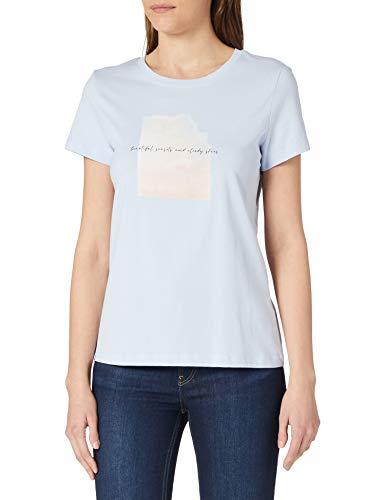 Esprit 021EE1K336 Camiseta, 435/Pastel Blue, M para Mujer