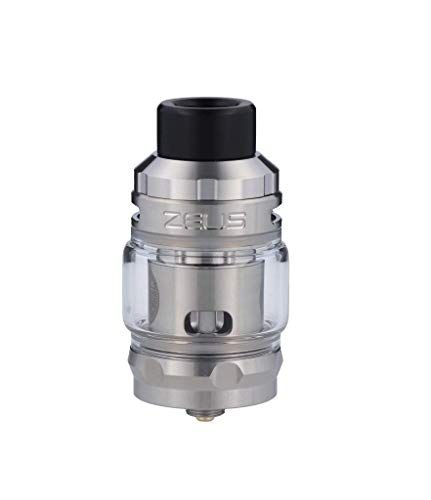GeekVape Zeus Subohm Clearomizer Set, 5ml, Top-Fill, Top-Airflow - Farbe: silber