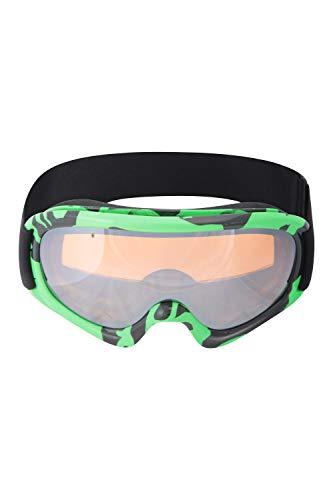 Mountain Warehouse Kids Patterned Ski Goggles - UV400 UV Protection,...