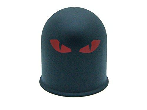 Schutzkappe Anhängerkupplung Dämon Teufel Evil Eye Cap 3 / Böser Blick 3 rot