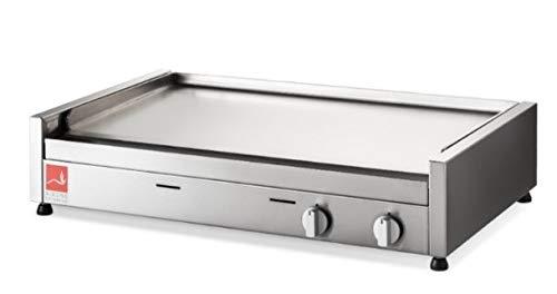 AIRONE Piastra Barbecue Gas da appoggio Piastra Inox Serie 80