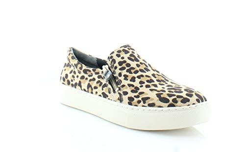 Dr. Scholl's Shoes Damen No Chill Loafer, Beige (Mikrofaser, Leopardenmuster, Hellbraun), 38.5 EU