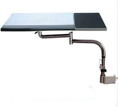 Sunter98 Multifunctoinal Full Motion Desk Edge/Table Side/Chair Leg Clamping Keyboard Tray Holder Laptop Desk Tablet Holder +Mouse Pad
