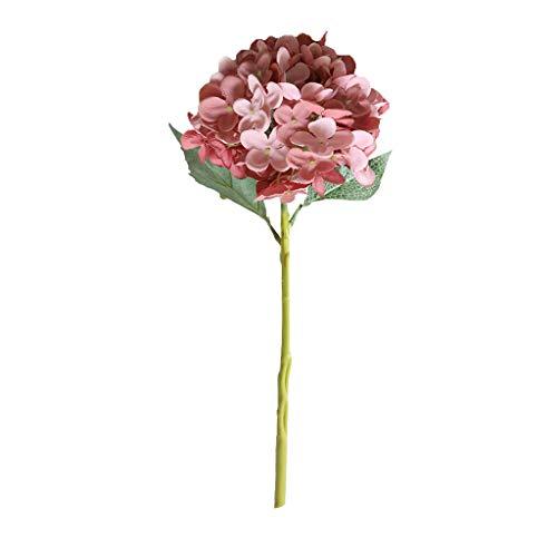Hunpta @ Künstliche Blumen Seide Hortensie Kunstblumen Blumenarrangement für Büro Haus Balkon Garten Hochzeit Party Valentinstag Dekoration