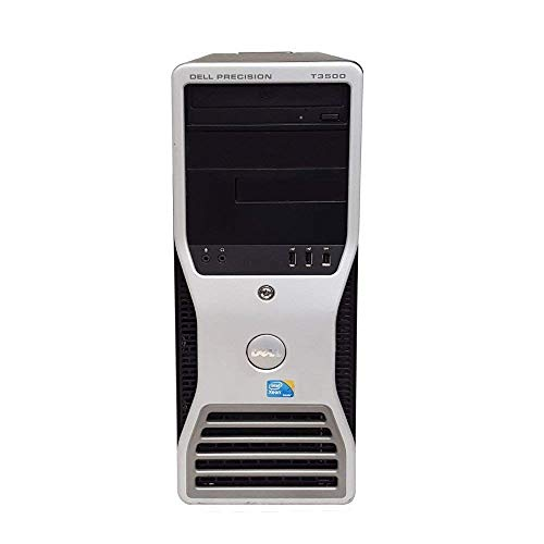 Dell Precision T3500 Tower High Performance Business Desktop, Intel Core XEON-W3550 3.06GHz up to 3.33GHz, 12GB RAM, 500GB HDD, 256GB SSD (Boot), DVD, Windows 10 Professional (Certified Refurbished)