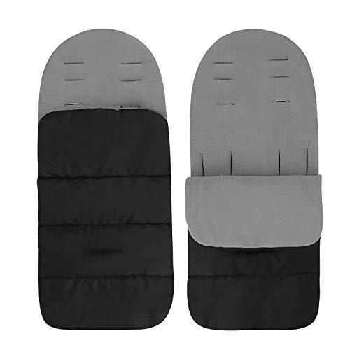 Saco de dormir universal para bebé de invierno, cortavientos, cálido, manta envolvente, cómoda, nido de ángel para silla de coche