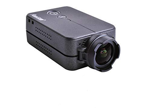 RunCam 2 FPV Camera 1080P 60fps HD Mini Action Sport Camera FOV 120 Degree Wi-Fi intégré iOS/Android APP NTSC PAL Switchable Racing Drone Camera Black