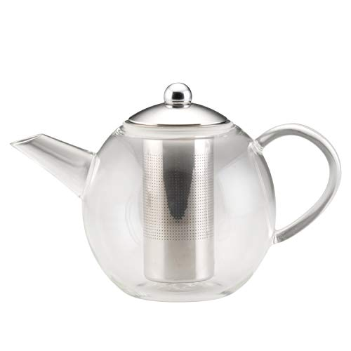 Best Deal For BonJour Glass Teapot with Stainless Steel Infuser