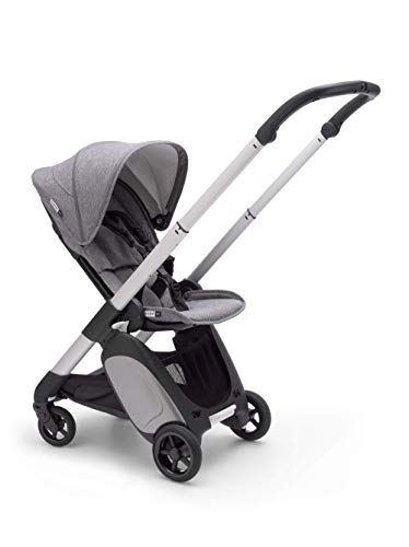 Bugaboo Ant Baby Stroller - Lightweight Stroller - Foldable Stroller - Travel and Compact Storage - Fits in Overhead Compartments - Reversible and Reclinable Travel Stroller - Grey Melange