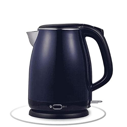Tetera de agua inalámbrica, 1.8l con tapa interior de acero inoxidable Hervidor eléctrico 1800w Hervidor de té inalámbrico, Hervidor de agua caliente con apagado automático con protección para hervir