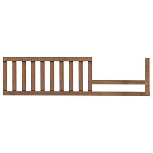 Evolur Stilnovo Mid Century Convertible Crib Toddler Guard Rail I Full Assembly I Lasting Quality
