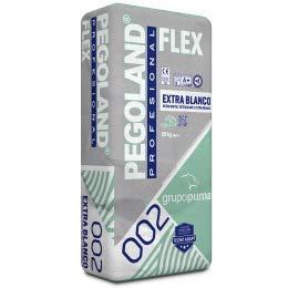 CEMENTO COLA PEGOLAND PROFESIONAL FLEX C2 BLANCO SACO 20 KG