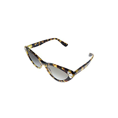 Miu Miu Gafas de sol MU 01VS 1565O0 Gafas de sol mujer color gris habana tamaño de lente 55 mm