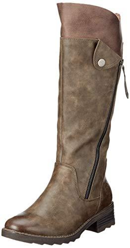 MARCO TOZZI Damen 26639-21 Hohe Stiefel, Braun (Mud Ant.Comb 358), 40 EU