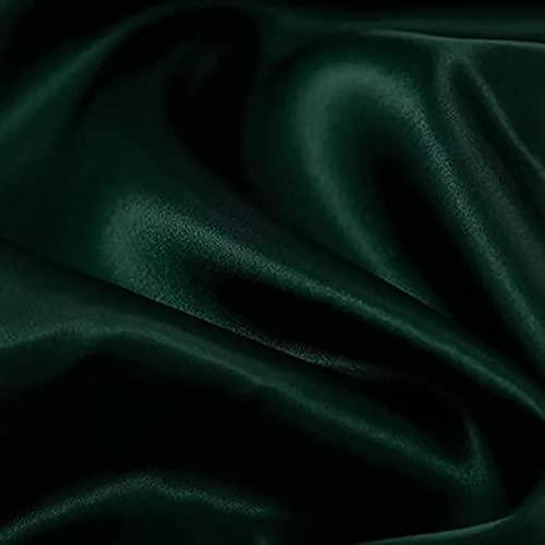 Yimihua 150 cm de Ancho Tela De Raso Suave y Brillante para Manualidades de Bricolaje Suministros para Fiestas Vestuario Tapicería Ropa de Baile Confección, Boda, graduación, Costura(Color:24#)