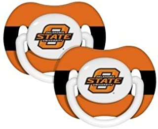 Oklahoma State Cowboys Orange Infant Pacifier Set (2) - 2015 NCAA Baby Pacifiers