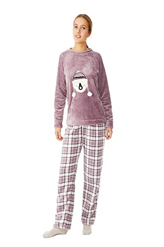 PROMISE Pijama de Mujer de coralina...