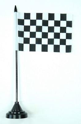 Fahne / Tischflagge Start / Ziel NEU 11 x 16 cm Flaggen
