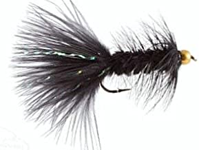 OLIVE Fly Fishing - Woolly Bugger Flies 12 One Dozen