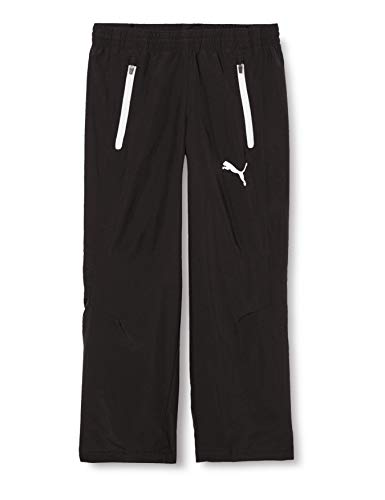 Puma Herren Leisure Pant Jogginghose, Black-White, L