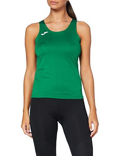 Joma 900038.450 Camiseta, Mujer, Verde, L