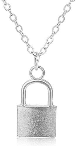 NC110 Joyería de Las Mujeres Collar Colgante Collar de Cadena de Acero Inoxidable Regalos YUAHAOJIGE8