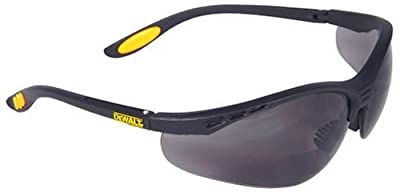 Dewalt DPG59-225C Reinforcer Rx-Bifocal 2.5 Smoke Lens High Performance Protective Safety Glasses
