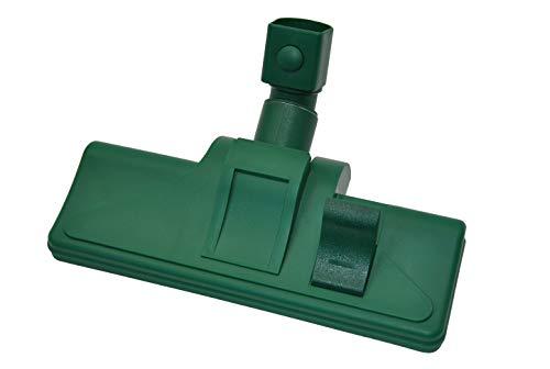 Kombidüse Bodendüse, Umschaltbar, geeignet für Vorwerk Kobold 118 119 120 121 122 Tiger 250 251, mit 2 Rollen,für Teppiche und glatte Böden