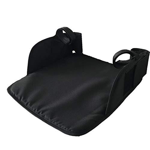 Kristy Extensión del cochecito de bebé Reposapiés Cochecito Reposapiés Pram Foot Board con gancho y lazo y cinturón ajustable para asiento de cochecito, 35X30cm, material de tela Oxford