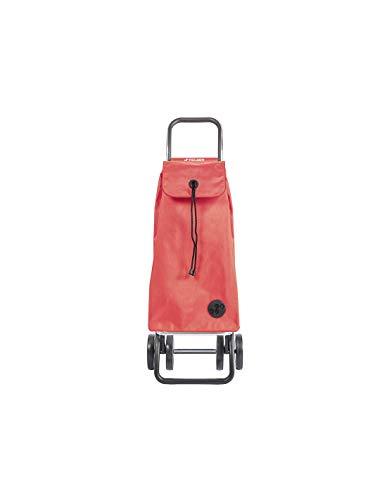 Shopping Trolley Rolser I-Max MF 4 Wheels - Coral